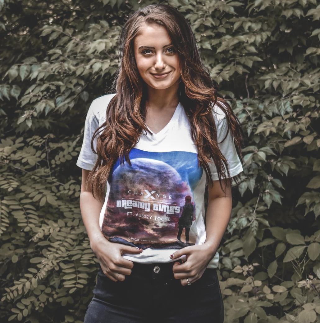 Dreamy Times T-shirt (White) Feat. Aubrey Toone